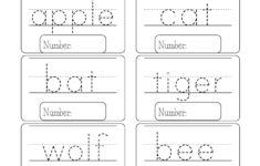 Preschool Vocabulary Worksheets
