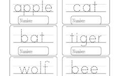 Math Worksheet : English For Kindergarten Preschool