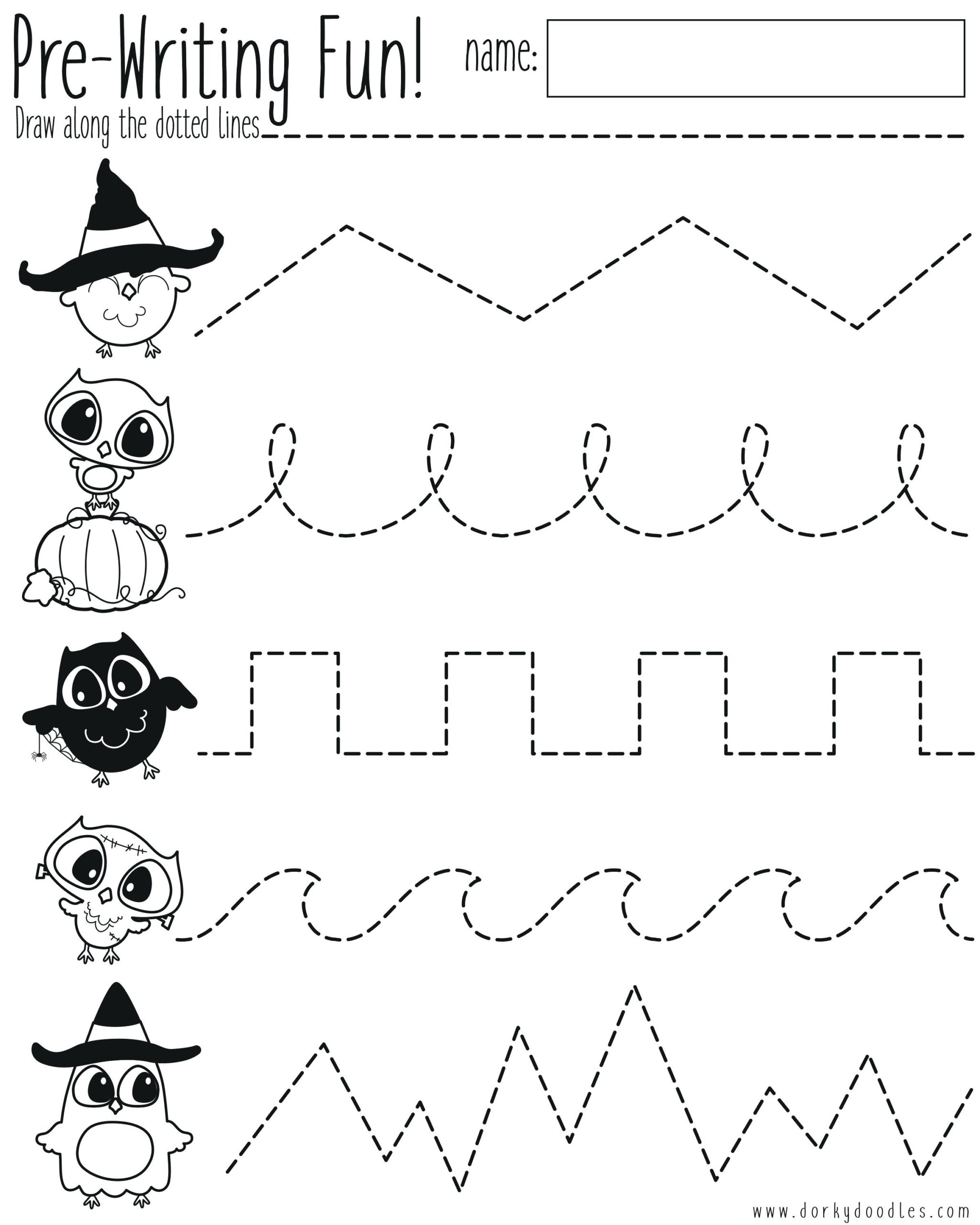 Math Worksheet : Writing For Preschoolers Worksheets