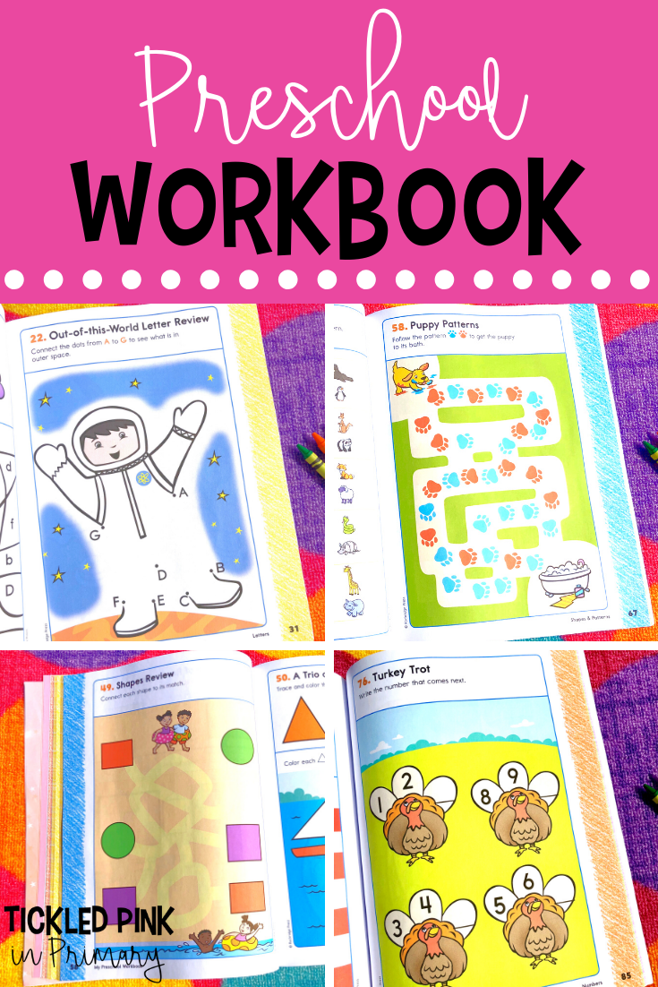 My Preschool Workbook - 101 Games And Activities In 2020