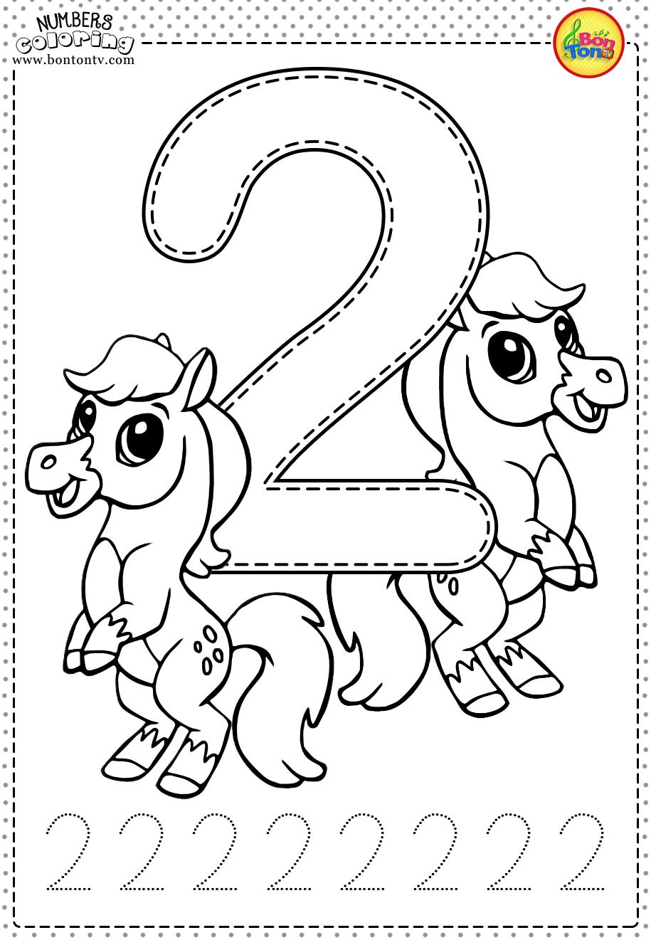 Number 2 - Preschool Printables - Free Worksheets And