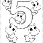 Number 5   Preschool Printables   Free Worksheets And Co