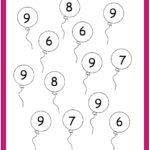 Number Nine Worksheet | Preschool Number Worksheets