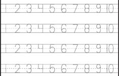 1-10 Preschool Worksheets