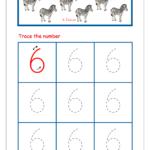 Number Tracing – Tracing Numbers – Number Tracing Worksheets
