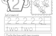 Number 2 Preschool Worksheets