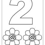 Numbers Colouring Sheets 02 | Numbers Preschool, Preschool