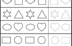 Preschool Worksheets Patterns