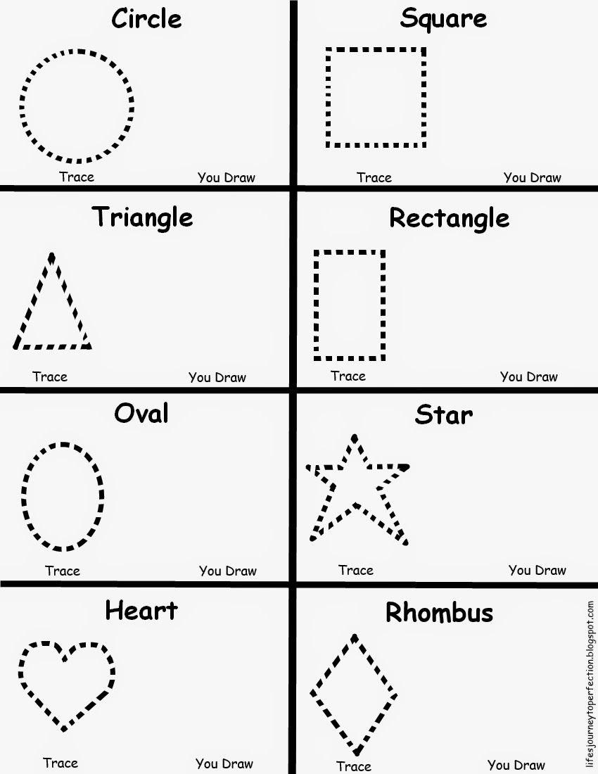 Preschool Shapes Worksheet | Shape Worksheets For Preschool