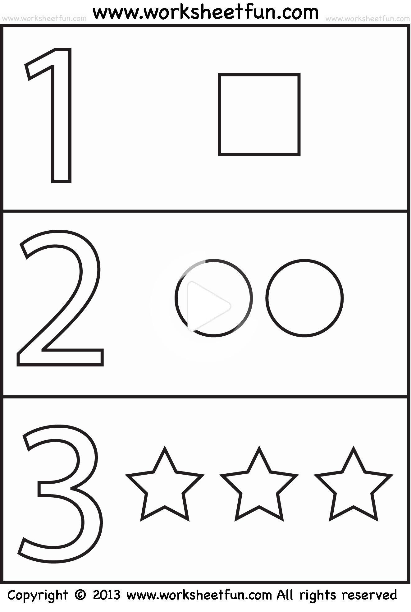 Preschool Worksheets Age 2 In 2020 | Free Preschool