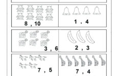 Free Preschool Worksheets Age 3 4 About Numbers