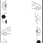 Preschool Worksheets   Connect Pictures   5 Worksheets