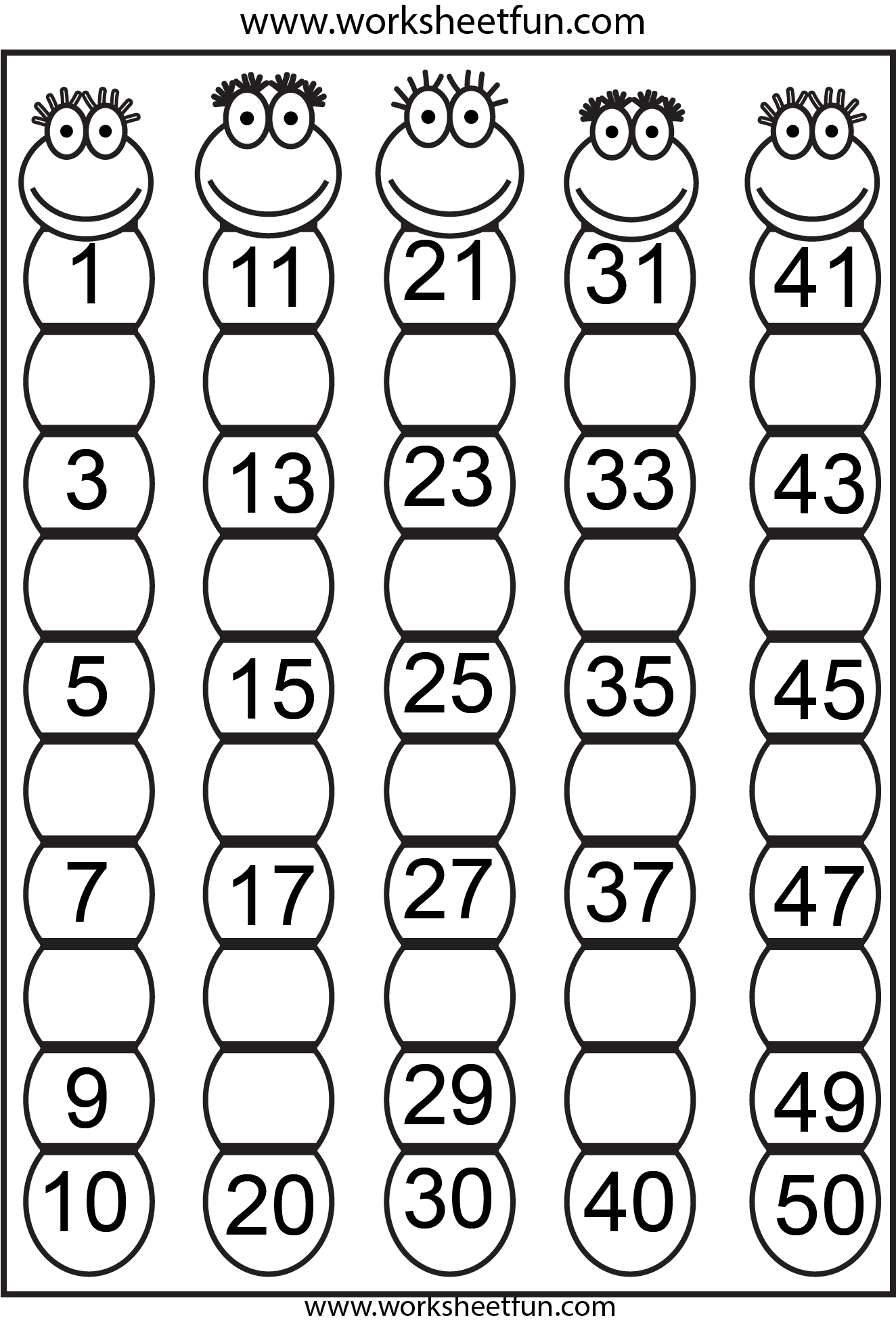 Preschool Worksheets / Free Printable Worksheets – Works