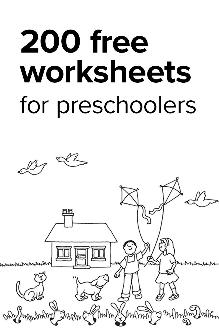 Preschool Worksheets   Kindergarten Math Worksheets