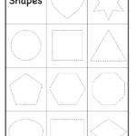 Preschool Worksheets | Shapes Preschool, Preschool
