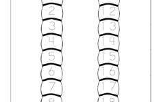 Preschool Number Worksheets 1-20