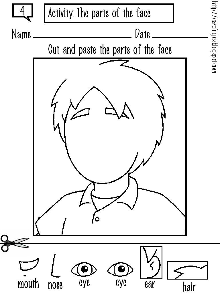 Printable Coloring Pages - Preschool Learning Online | Okul