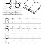 Printable Letter B Tracing Worksheets For Preschool | Letter