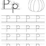 Printable Letter P Tracing Worksheet! | Letter P Worksheets