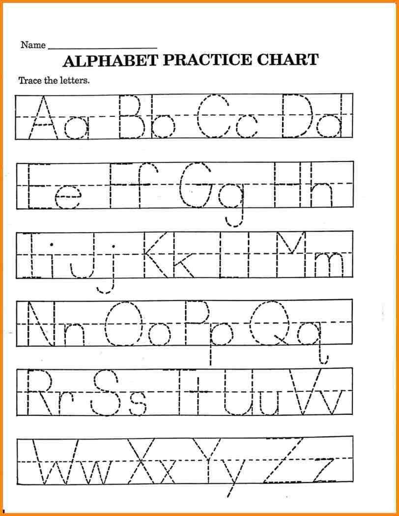 Printable Preschool Handwriting Practice Worksheets 7 Pre K