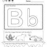 Printable Preschool Worksheets Letter Clover Hatunisi
