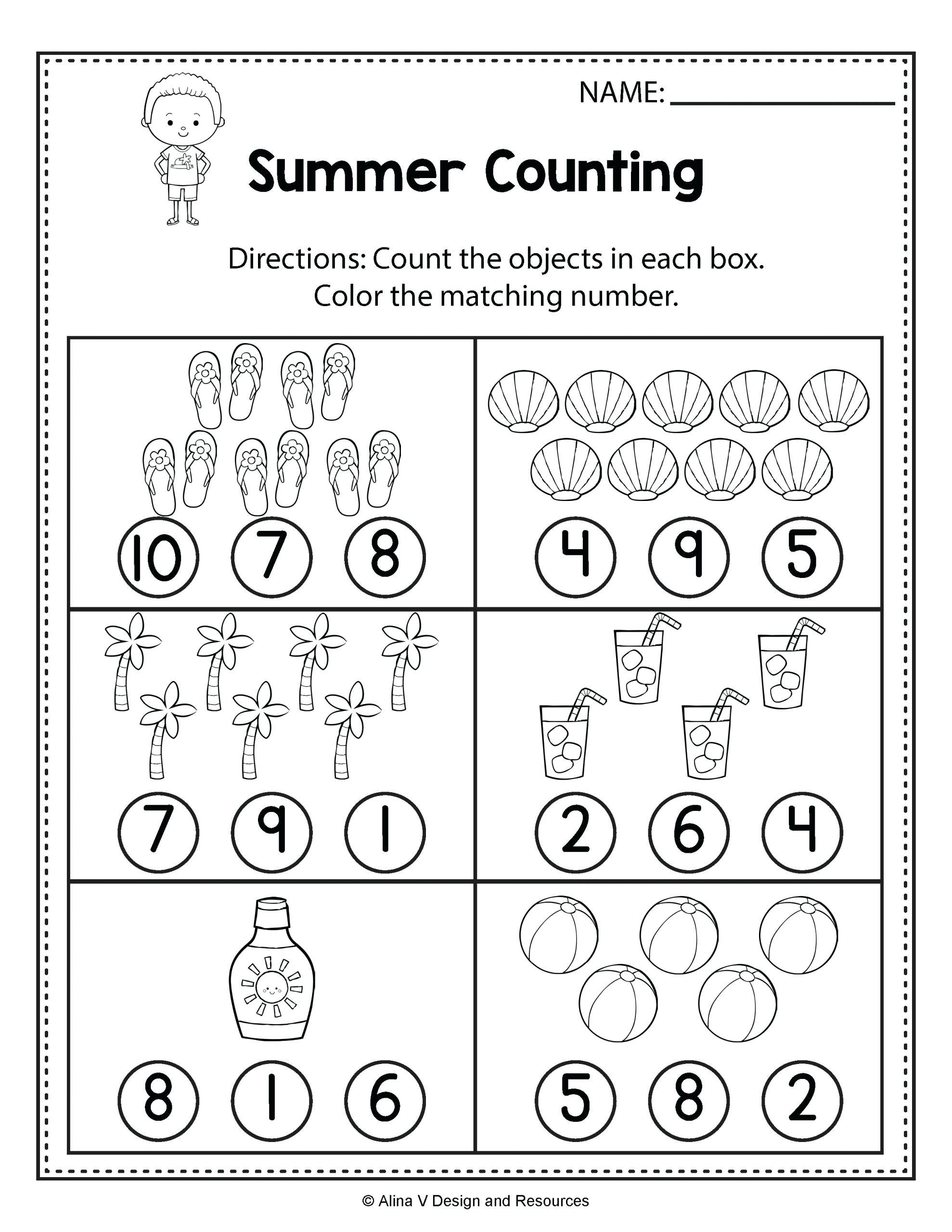 Printable Preschool Worksheets Number Hyponitrite Xyz