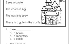 Kids Reading Worksheets Free Printable