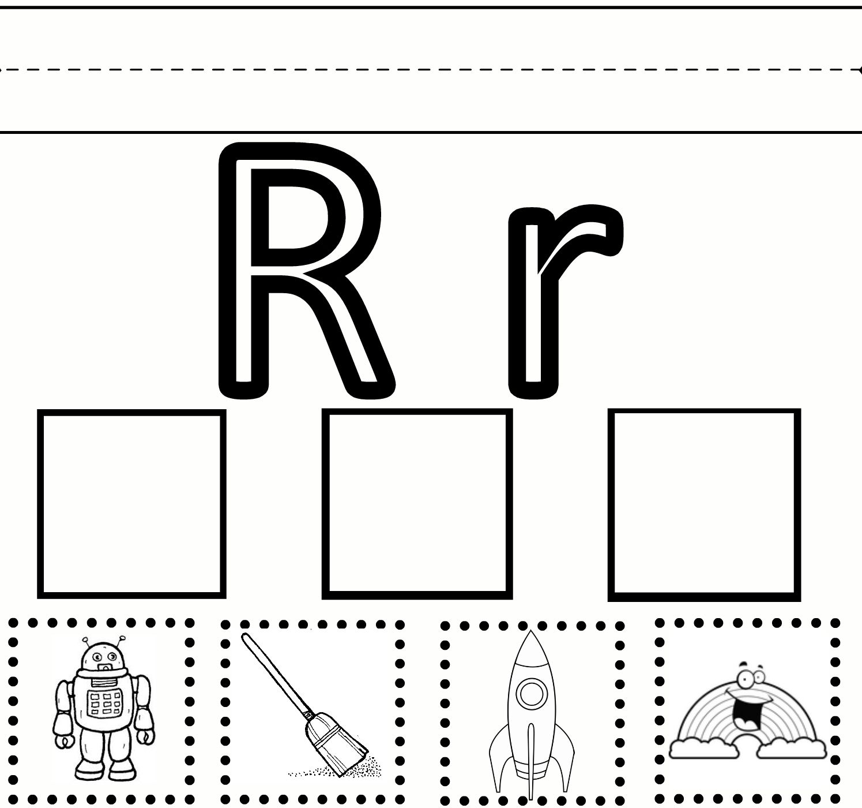 R Practice | Letter Worksheets For Preschool, Preschool