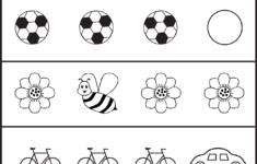 Same Or Different Worksheets For Toddler | Free Preschool