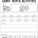 Sight Word Activities (Pre Primer) | Word Activities, Sight