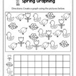 Spring Graphing. Spring Math Worksheets And Activities For