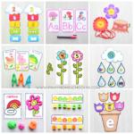 Spring Preschool And Kindergarten Learning Materials | The