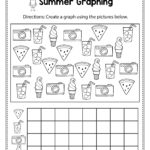 Summer Graphing   Summer Math Worksheets And Activities For
