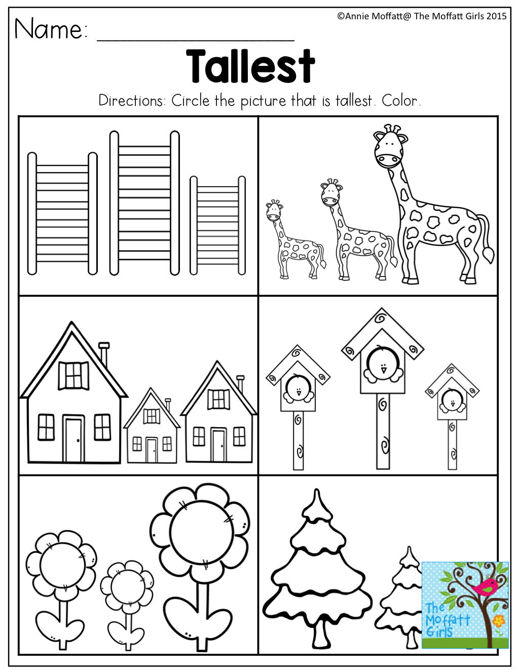 Tallest- Tons Of Great Printables For Preschool! | Free