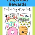 Teaching English Online Props And Rewards: Printable Digital