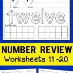 Teen Number Worksheets 11 20   Totschooling   Toddler