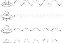 Preschool Worksheets Tracing Lines