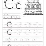Trace The Letter C Worksheets   Alphabet Worksheets