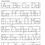 Traceable Alphabet Worksheets A Z | Activity Shelter