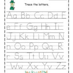 Traceable Alphabet Worksheets A Z In 2020 | Alphabet