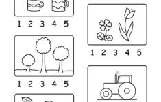 Preschool Number Worksheets 1-5