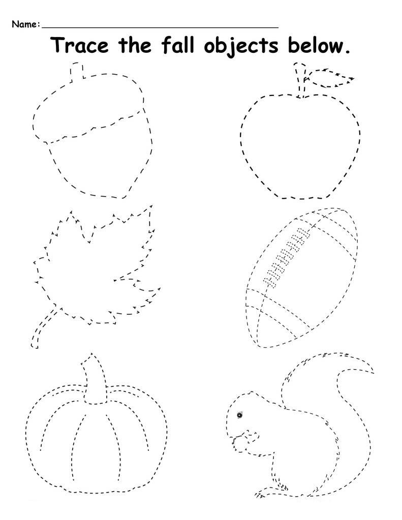 Tremendous Fall Printables For Preschool Free Leaves