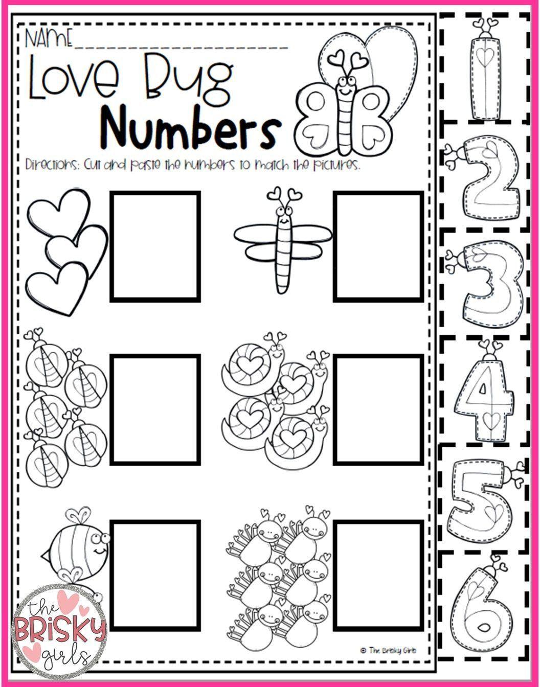 Valentines Day Preschool Worksheets Valentine S Day