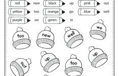 Preschool Worksheets Online