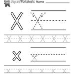 Worksheet ~ Free Letter X Alphabet Learning Worksheetr