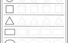 Preschool Worksheets On Shapes