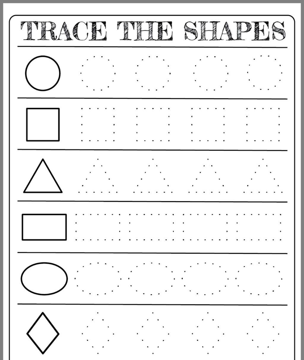 Worksheet ~ Freerintable Shapes Worksheets For Toddlers