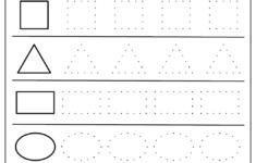 Shapes Worksheet Preschool