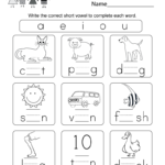 Worksheet ~ Kindergarten Englishheets Games Free Lessons