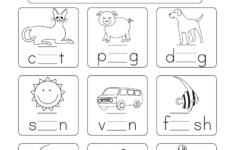 Kindergarten Worksheets Free Printable